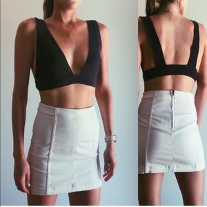 Urban Outfitters Plunging Crop top